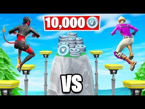 50 LEVEL Deathrun Winner Gets 10,000 VBucks! (Fortnite Creative Challenge)