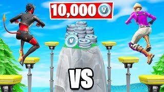 50 LEVEL Deathrun Winner Obtient 10.000 VBucks! (Fortnite Creative Challenge)