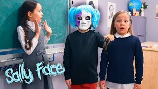 I was transferred to Sally Face class! Sally Face in real life!