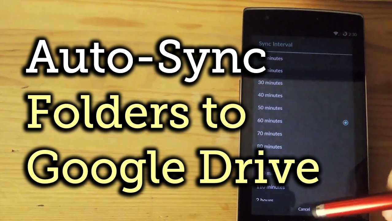 Back Up All Your Android's Files to Google Drive Automatically « HTC