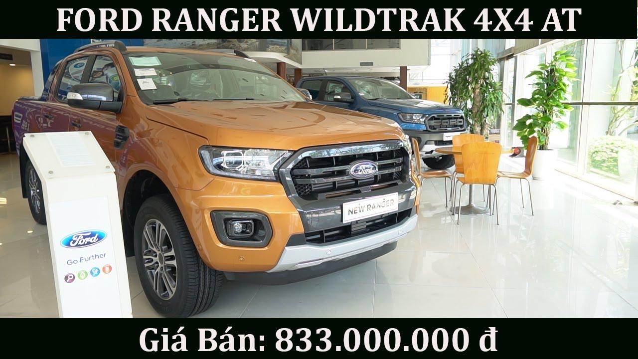 ✅ Ford Ranger Wildtrak 4x4 AT Bản cao cấp I Giá bán: 833 (Tr.đ)