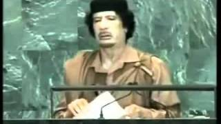 Речь Муаммара Каддафи в ООН на 64 сесии Ген. Ассамлеи