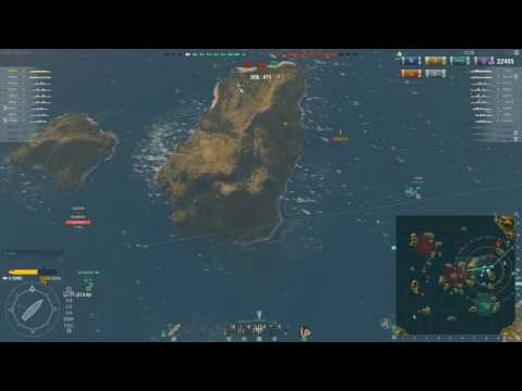 World of warships - Zuiho gameplay
