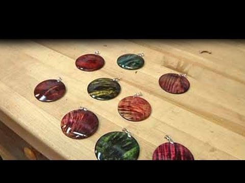 Woodturning with Tim Yoder Classics-Colored Pendants
