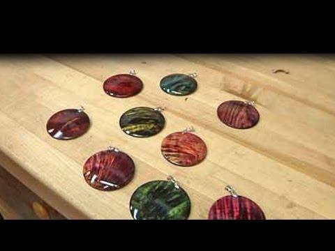 Colored Pendants
