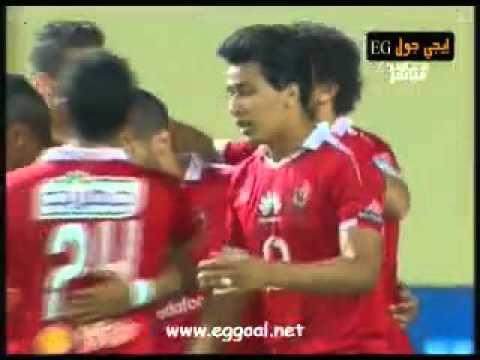 الاهلى يفوز على إتحاد الشرطة 5-3 فى الدورى المصرى, الاحد 3-4-2016