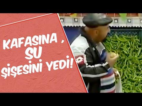 Mustafa Karadeniz Kafasına Su Şişesini Yedi! | Manav Şakası!