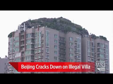 Illegal Beijing Structure Reaches New Heights
