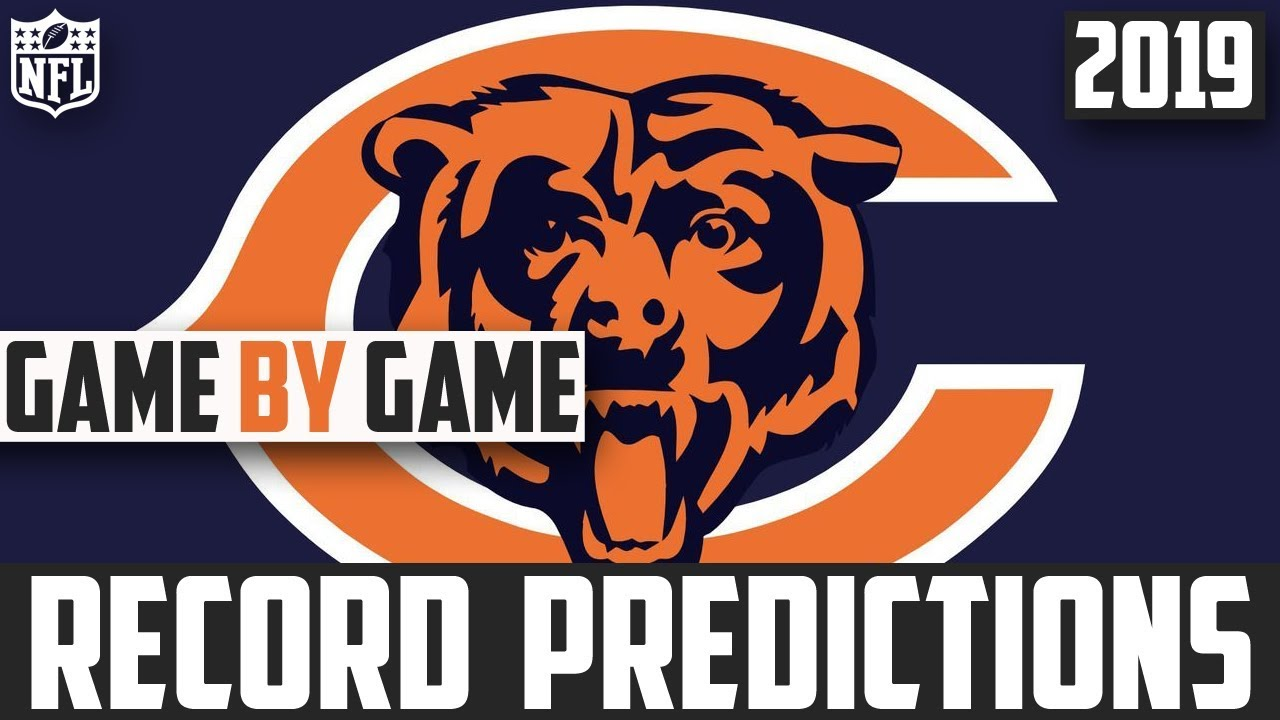 f1a67283 2019 NFL Record Predictions - Chicago Bears Record Prediction 2019