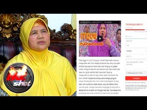 Mamah Dedeh Dituntut Meminta Maaf Hot Shot 02 Agustus 2015 Youtube