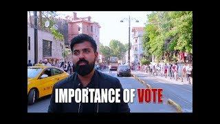 Importance Of Vote | Daniyal Sheikh