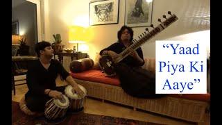 Yaad Piya ki Aaye, Sitar Instrumental Thumari , Deobrat Mishra