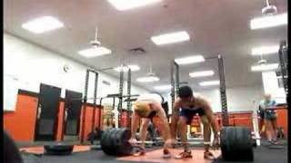 Weightlifting Tandem 2 man Clean and Jerk