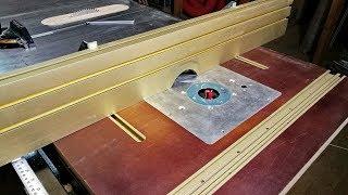 Самодельный фрезерный стол. Фрезерные работы по дереву и металлу.1 часть