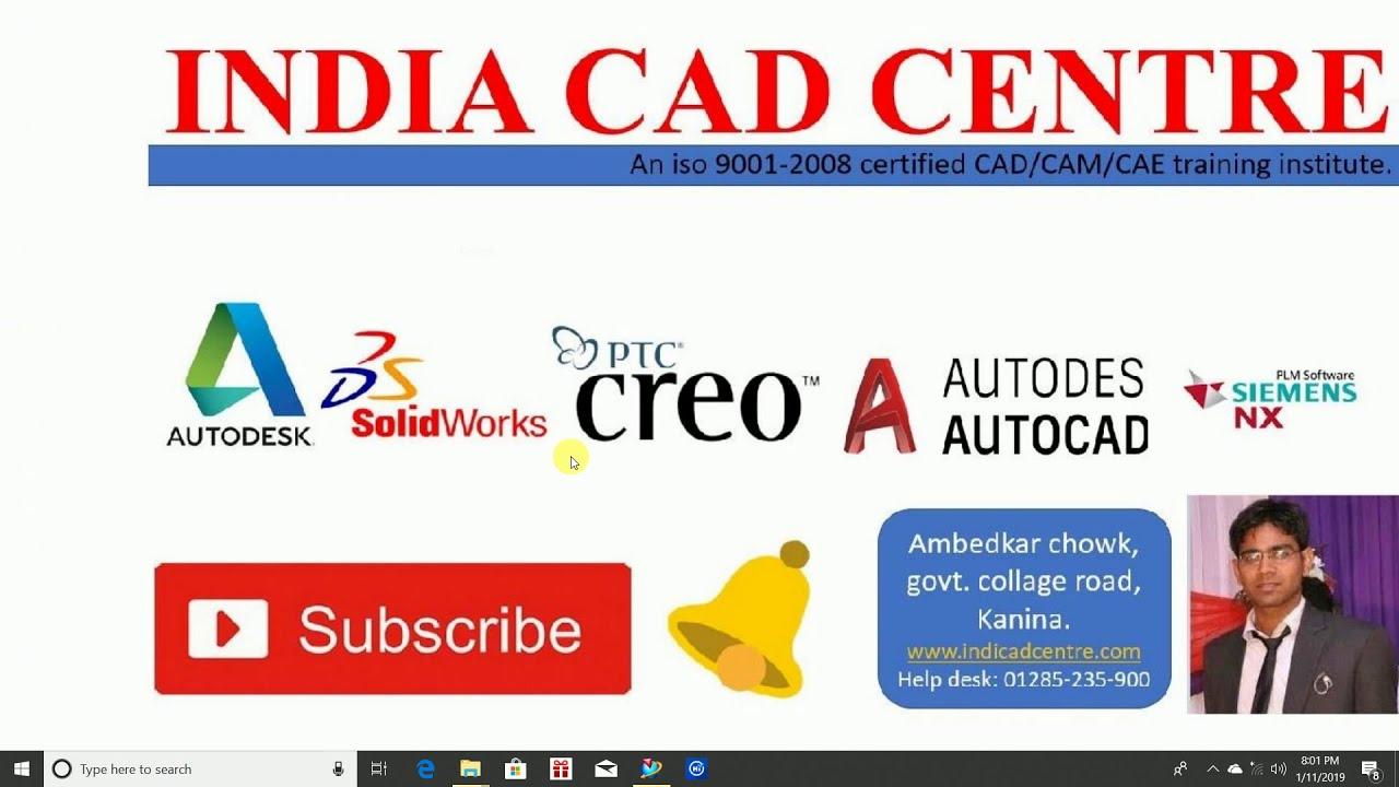 Siemens NX mold core cavity design video tutorial in Hindi