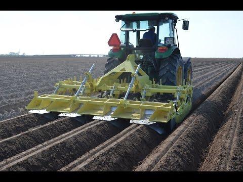 Ciekawy obsypnik do ziemniaków - KMK OF 475 + John Deere 5083E