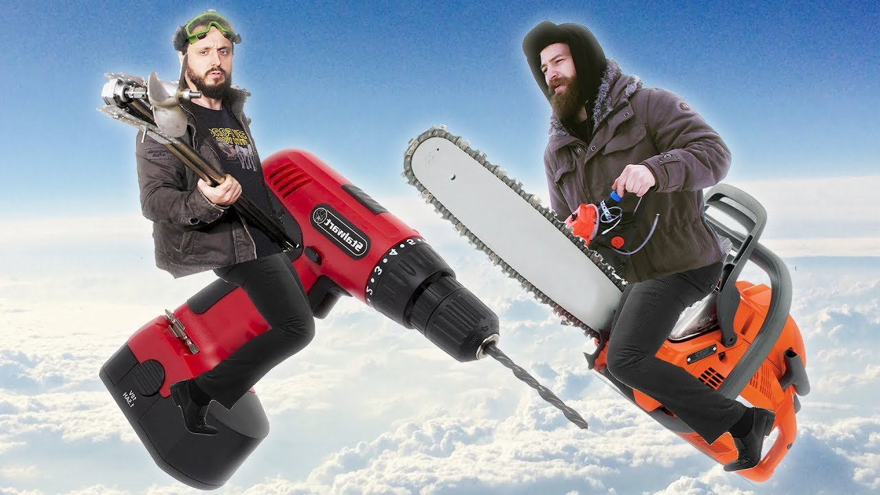 ШУРУПОВЕРТ ИЛИ БЕНЗОПИЛА — Самодельные двигатели - СТАРЫЙ ИЛИ КРАСТЕР?
