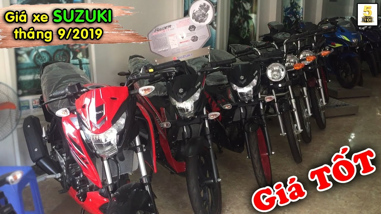 Giá xe SUZUKI tháng 9/2019 tại Xe máy Minh Ngọc – Lào Cai ▶️ Giá SUZUKI CỰC TỐT 🔴 TOP 5 ĐAM MÊ