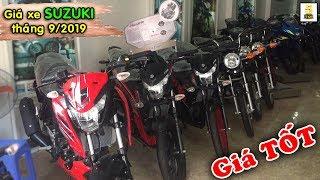 Giá xe SUZUKI tháng 9/2019 tại Xe máy Minh Ngọc – Lào Cai ▶️ Giá SUZUKI CỰC TỐT 🔴 TOP 5 ĐAM MÊ Video