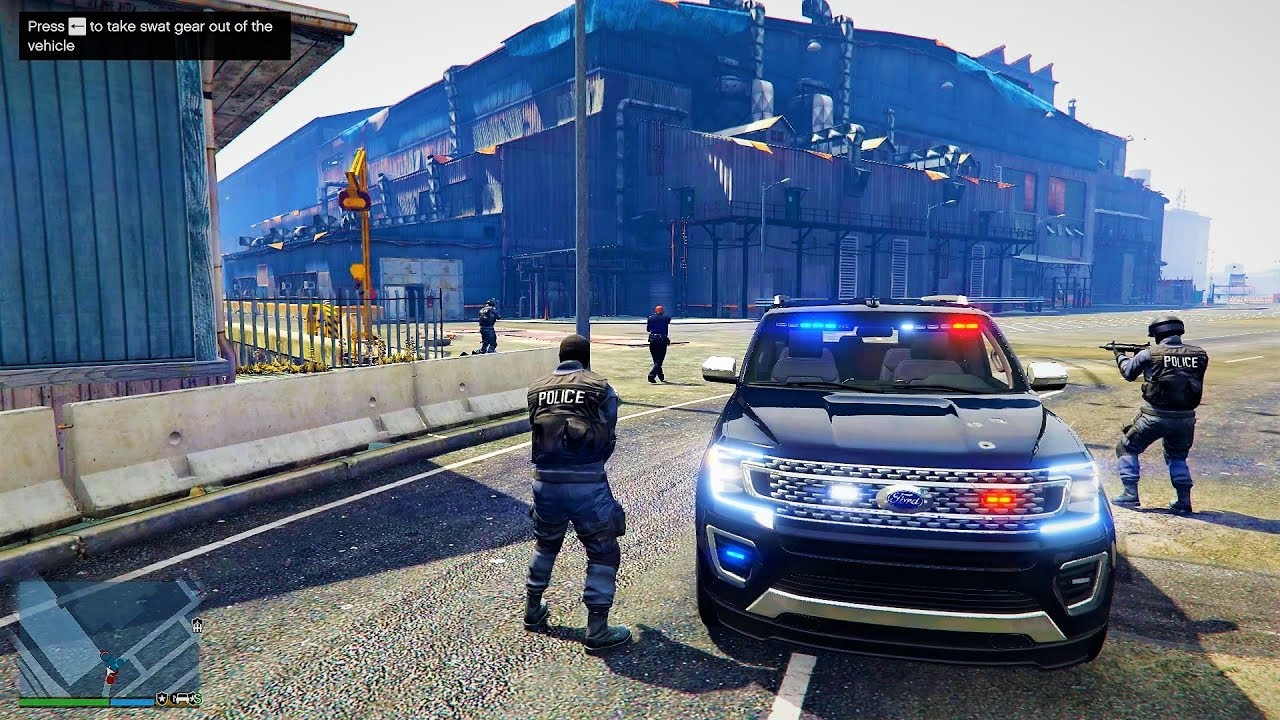Grand Theft Auto V  Ford Expedition Fbi Gameplay