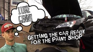 piecing the Copart Hyundai Genesis Coupe 2.0t back together смотреть