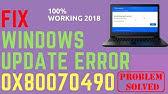 How to Fix Error Code 0x80070490 in Windows 10/8/7 - YouTube