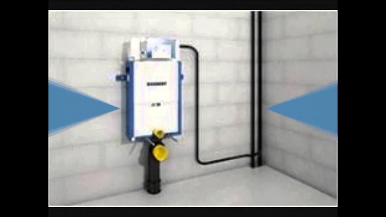 C mo se instala una cisterna empotrada youtube - Cisterna empotrada ...