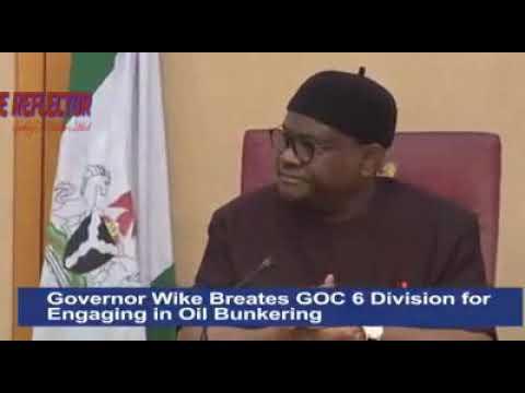 GOC 6 Division Leaking Security Secrets To Criminals - Gov. Wike