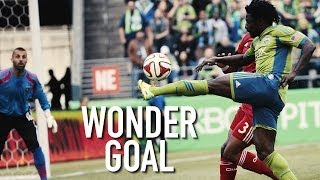 GOAL: OBAFEMI MARTINS scores with a SPECTACULAR chip thumbnail