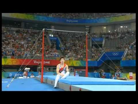 Mens Gymnastics Falls and Crashes