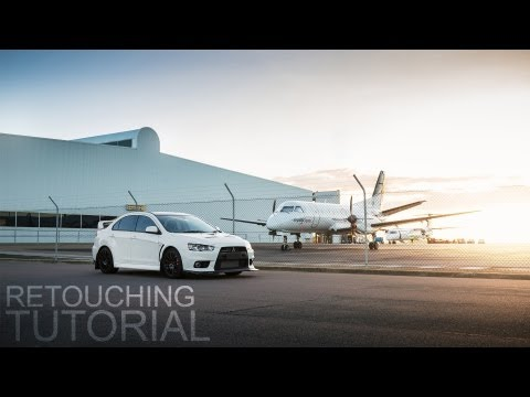 Retouching Car Photos! [Adobe Lightroom 4 + Photoshop CS6]