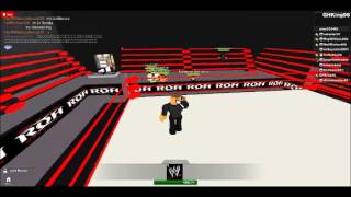 ROH Wrestling (ROBLOX): Part 1