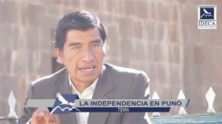 René Calsín: La Independencia en Puno