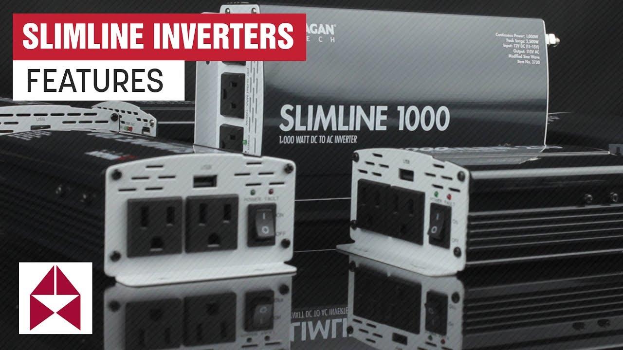 SlimLine 1500W AC Inverter | Power Inverter | Wagan Tech