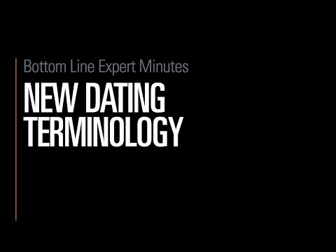 New Dating Terminology