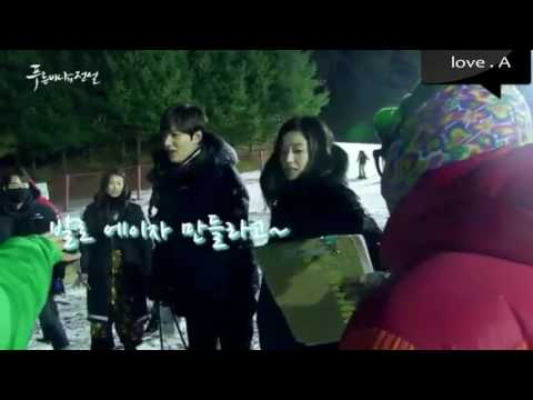 [ENG] Legend of the Blue Sea BBQ + Ski Scene Making