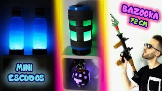 OBJETOS FORTNITE EN LA VIDA REAL *se los regalo a Willyrex* | ArteMaster