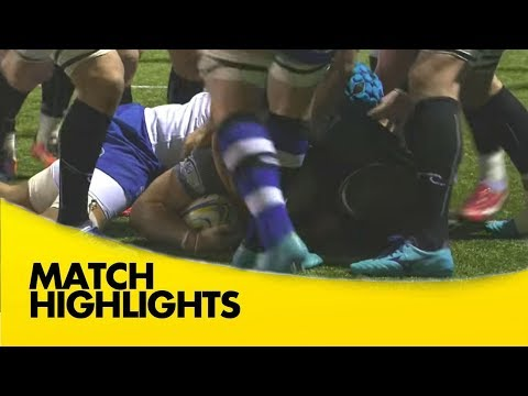 Newcastle Falcons v Bath Rugby - Aviva Premiership Rugby 2017-18