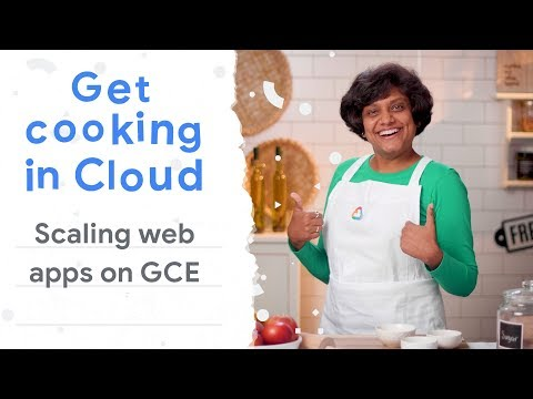 Scaling web app on Google Compute Engine (Get Cooking in