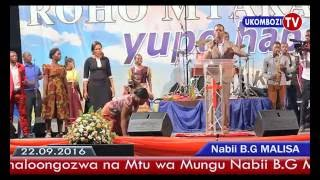 Unabii Kongamano la Kufunguliwa Viwanja vya Biafra lililoongozwa na Nabii Malisa