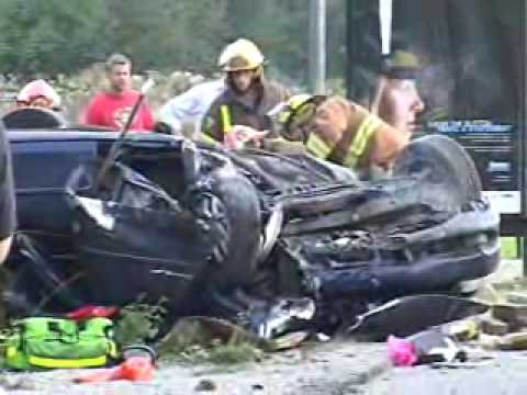 langley car crash rollover rescue death 200th st 76th ave bc canada youtube