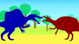 Хороший Динозавр - Спинозавр. Динозавры Мультфильм на русском языке. Веселые Динозаврики
