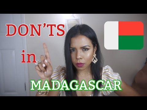 THINGS YOU CANNOT DO IN MADAGASCAR I TRAVEL GUIDE