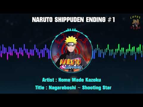 Naruto Shippuden Ending 1 - Home Made Kazoku - Nagareboshi ~ Shooting Star --- Hi-Res