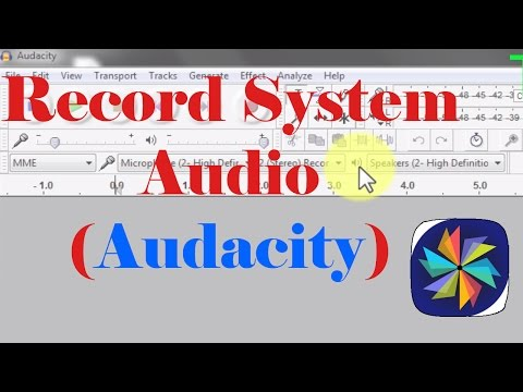 Record System Audio Using Audacity  (100% Working And Simple)