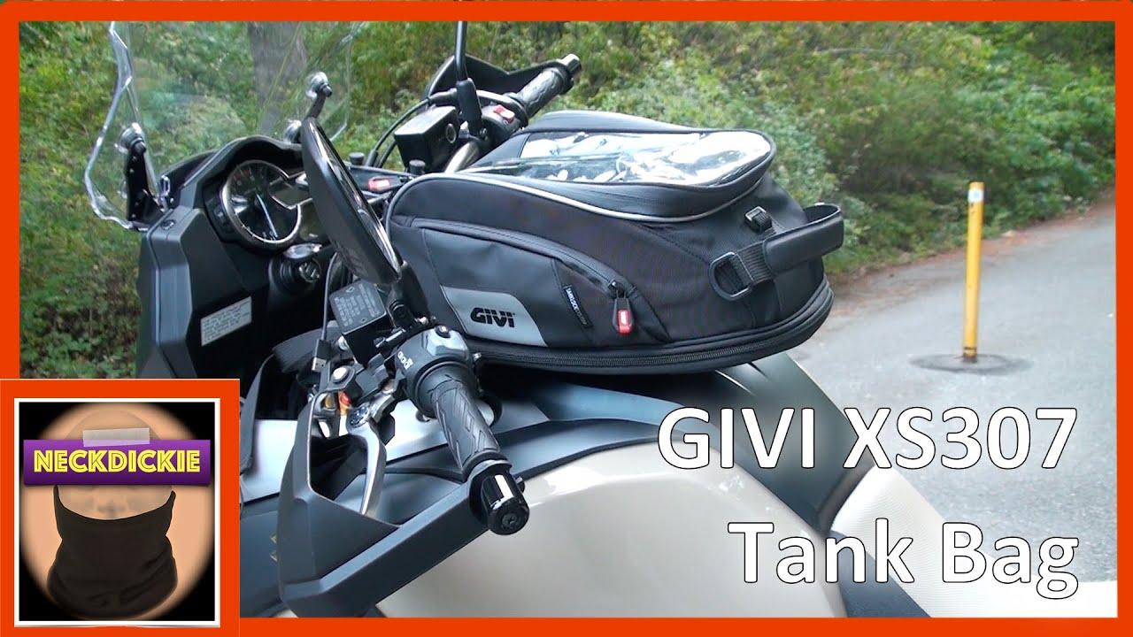 Givi Xs307 Tank Bag Review Youtube