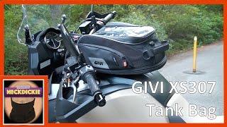 GIVI Dual Sport Adventure Motorcycle Tank Bag Tanklock 15 Liter XS307
