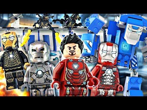 Instructions NEW LEGO minifigure Iron Man 76125 Endgame Igor Mark 38 avengers