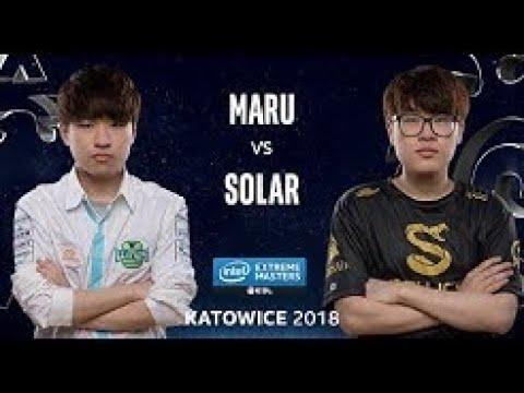 StarCraft II Solar (Z) VS Maru (T) IEM Katowice  [ Cast By Mati] Game 3