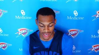 Thunder Update: Bazley on team leadership